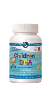 NORDIC CHILDREN'S DHA 225 mg OMEGA-3 180 kaps