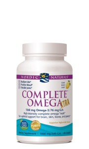 NORDIC NATURALS COMPLETE OMEGA XTRA 1360 mg OMEGA-3/76 mg GLA 60 kaps